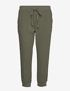 Naya Capri- MIN 20 pcs - casual trousers - grape leaf