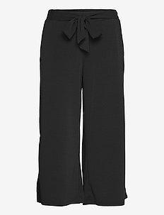 KAmalli Pants - casual bukser - black deep