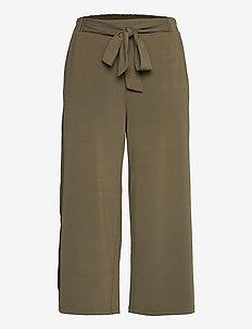 KAmalli Pants - casual bukser - grape leaf