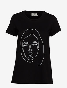 KAfie T-Shirt - BLACK DEEP
