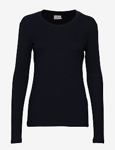 KAlia Long Sleeve T-shirt - MIDNIGHT MARINE