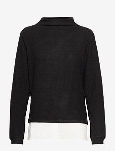 KAbelina Highneck Pullover Min 8 pc - rullekraver - black deep / 50003