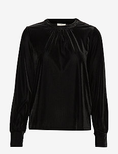 KAcollin Blouse - BLACK DEEP