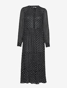 KAdotta Amber Dress - BLACK DEEP