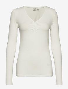 KAlisbet T-shirt - topy z długimi rękawami - chalk