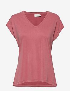 KAlise SS T-shirt - OLD ROSE