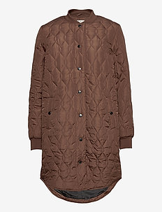 KAshally Quilted Coat - quilted jassen - mustang