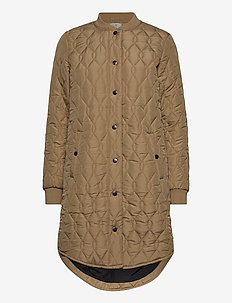 KAshally Quilted Coat - quiltade jackor - tannin