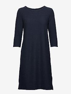 KAbeth cropped sleeve Jersey Dress - MIDNIGHT MARINE