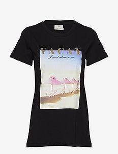 KAvarny T-shirt - printed t-shirts - black deep