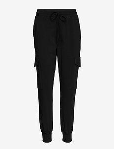 KAsiggi Linda Pants - casual housut - black deep