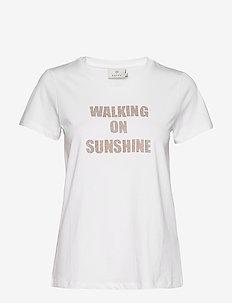 KAmarca T-shirt - printed t-shirts - optical white