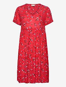 KAesta Amber Dress - short dresses - high risk red