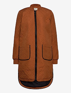 KAmica Quilted Coat - pikowana - sierra