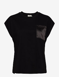 KAblanca T-shirt SS - t-shirts - black deep