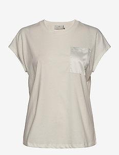 KAblanca T-shirt SS - t-shirts - chalk