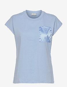 KAblanca T-shirt SS - t-shirts - chambray blue