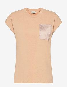 KAblanca T-shirt SS - t-shirts - classic sand