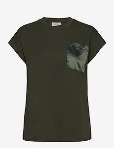 KAblanca T-shirt SS - t-shirts - grape leaf