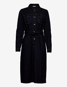 KAbrit Denim Dress - shirt dresses - dark blue denim