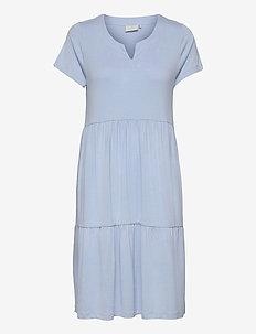 KApetra Jersey Dress - hverdagskjoler - chambray blue