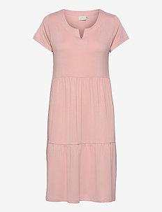 KApetra Jersey Dress - hverdagskjoler - misty rose