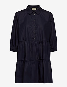 KAbeata Dress Shirt - tuniques - midnight marine