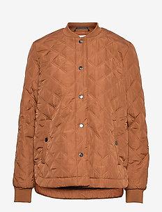 KAjulie Quilted Jacket - quilted jassen - thrush