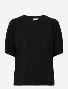 KAdana Linda Blouse - t-shirts - black deep