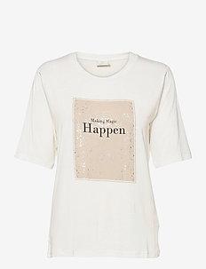 KAmarna SS T-Shirt - t-shirts - chalk