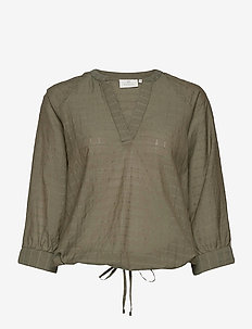 KAfie Blouse - blouses met lange mouwen - grape leaf