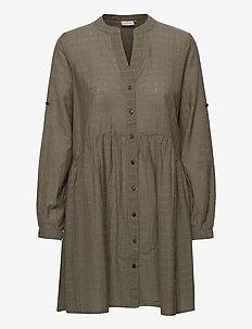 KAfie Shirt Tunic - alledaagse jurken - grape leaf