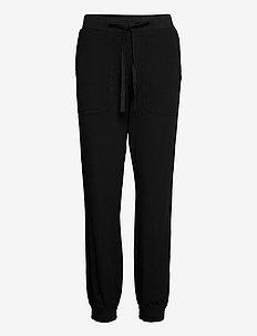 KAnaya Pants Lenght - casual bukser - black deep
