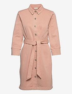 KAbellis Denim Dress - robes d'été - misty rose