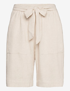 KAliny Shorts - casual shorts - light sand linen