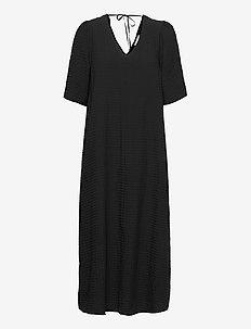 KAjollie Dress - sommerkjoler - black deep
