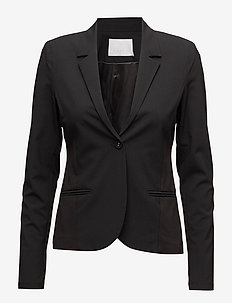 Jillian Blazer - sets & co-ords - black deep