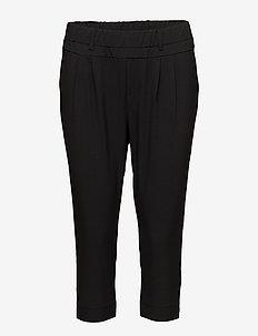 Jillian Capri Pants - casual bukser - black deep