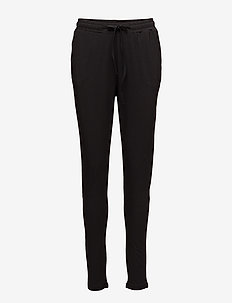 Linda Pant- MIN 2 - trousers with skinny legs - black deep