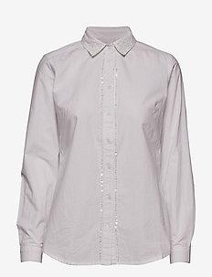 Pearly Shirt - koszule z długimi rękawami - optical white