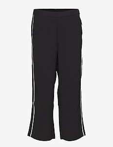 Josie Cropped Pants - casual bukser - black deep