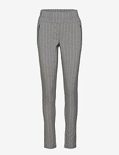 Pina Vilja Pants - spodnie rurki - grey melange