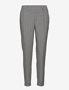 Pina Nanci Pants - slim fit spodnie - grey melange