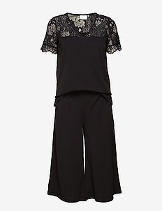 Ninna Playsuit - jumpsuits - black deep