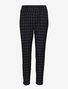 Noraella Gent 7/8 Pants - slim fit spodnie - black deep