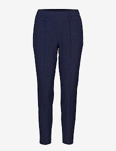 Vita Gent 7/8 Pants - slim fit spodnie - midnight marine
