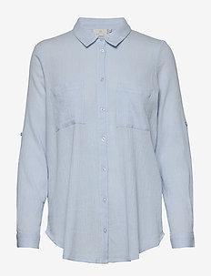 KAregina Shirt BS - ANGEL BLUE
