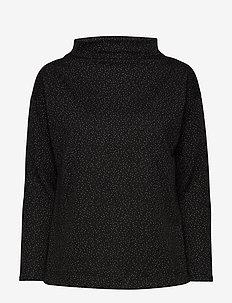 KAvally Blouse - bluzki z długimi rękawami - black deep