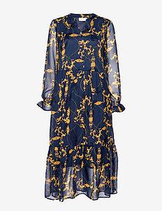 KAwilma Midi Dress - MIDNIGHT NAVY
