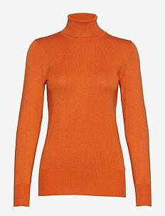Astrid Roll Neck - rullekraver - burnt orange